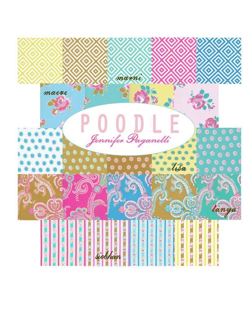 Poodle logo for blog