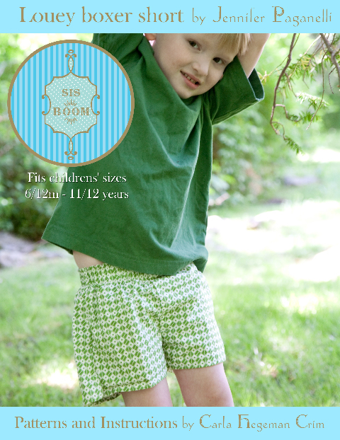 Louey Boxer Short Pattern Cover